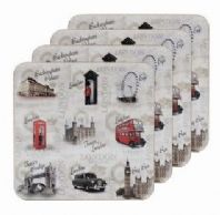 'Sights Of London' Coasters